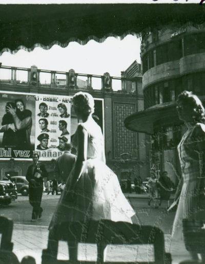 Francesc Catalá Roca<br/>Cine Callao, Madrid. 1958