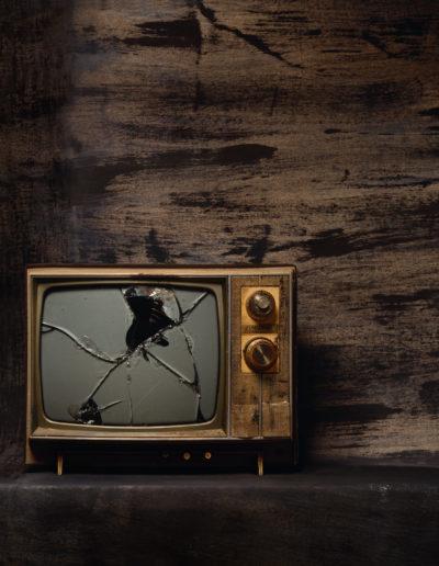 Una tele<br/>