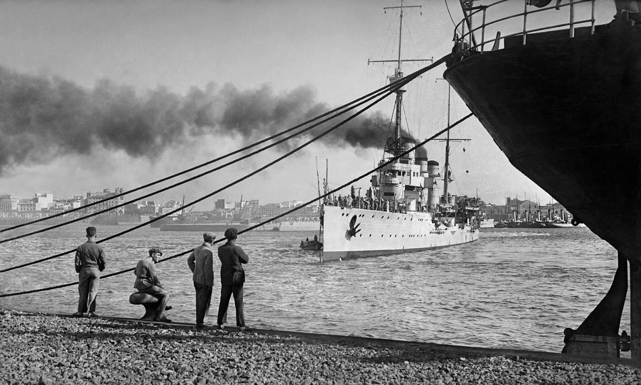 Bartolomé Ros y Ros. Puerto de Ceuta, 1929<br/>