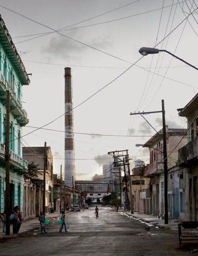 Chimney down the Alley, 2007 Havana<br/>
