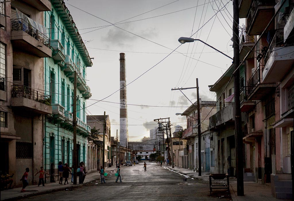 Chimney down the Alley, 2007 Havana<br/>