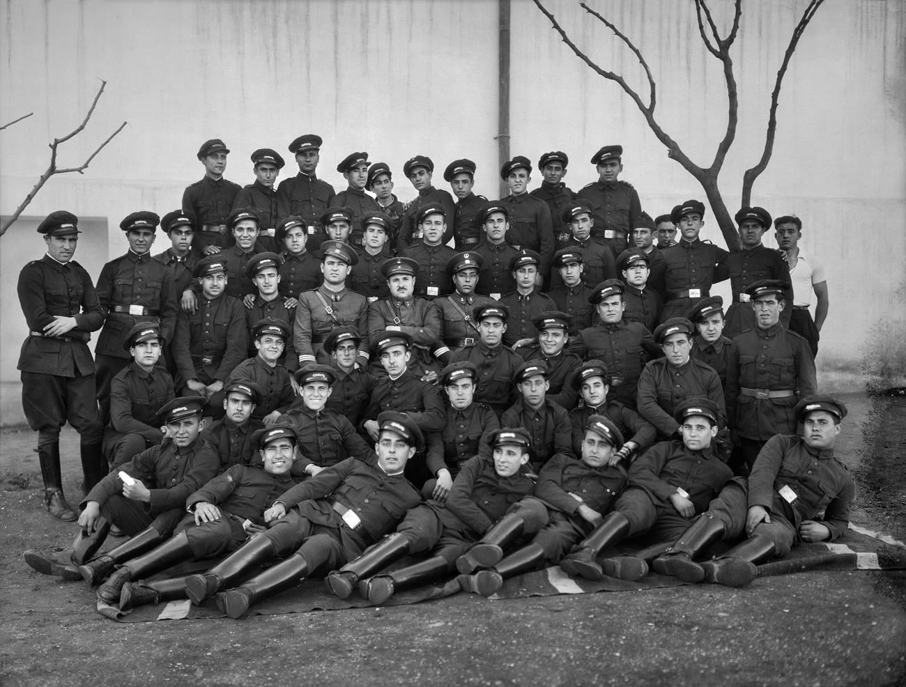 Bartolomé Ros y Ros. Regimiento de infantería de Ceuta, 1924<br/>