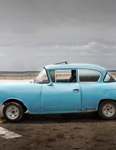 Blue Chevy by the Pier, 2007 Havana<br/>