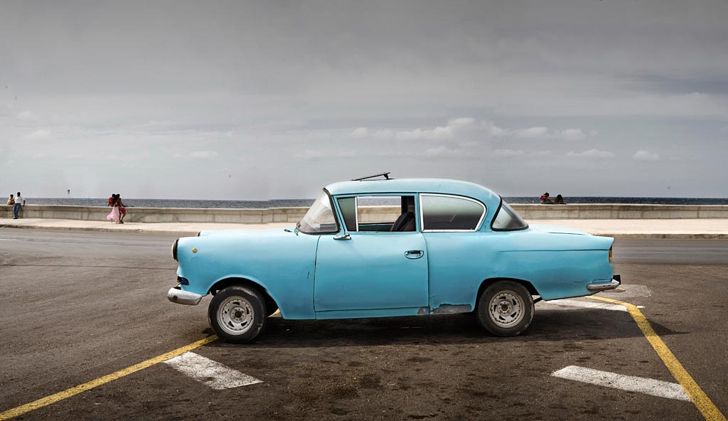 Blue Chevy by the Pier, 2007 Havana<br/>