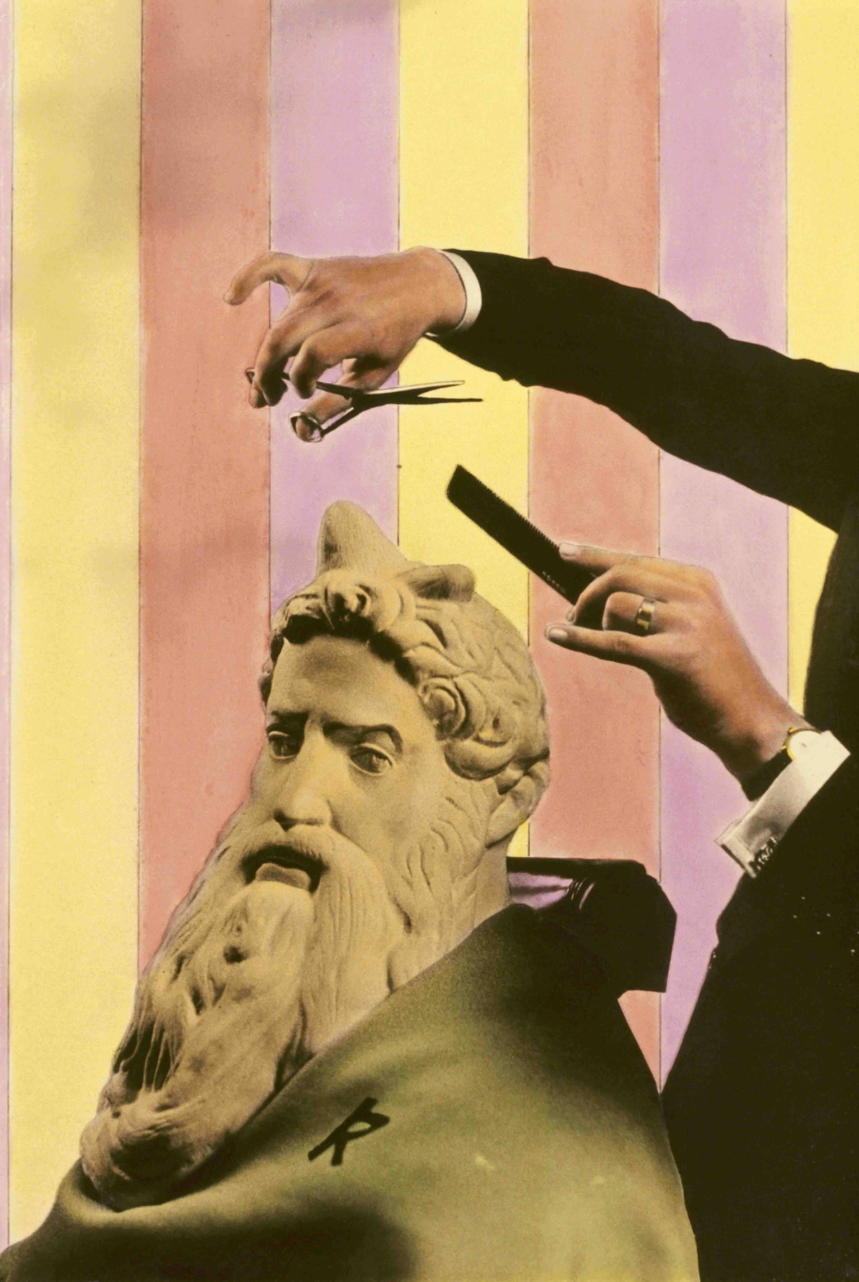 Moisés en la Peluquería. 1977<br/>