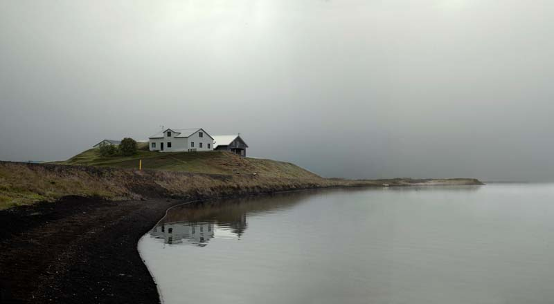 House in the Mist by the Sea, 2007 Iceland<br/>