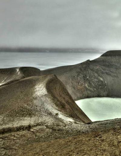 Viti Vulcano Enter Viti at your own Risk, 2007 Iceland.<br/>