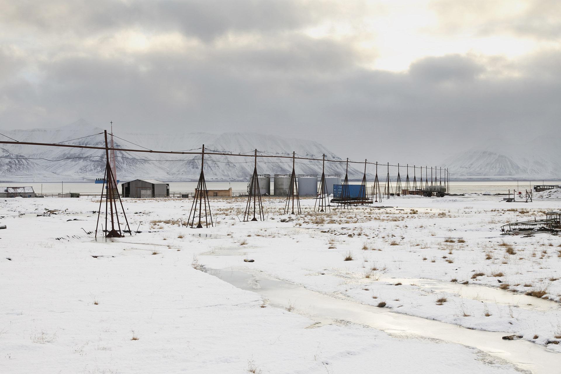 Pyramiden, Spitsbergen, Svalbard, Arctic Ocean VI, 2013<br/>