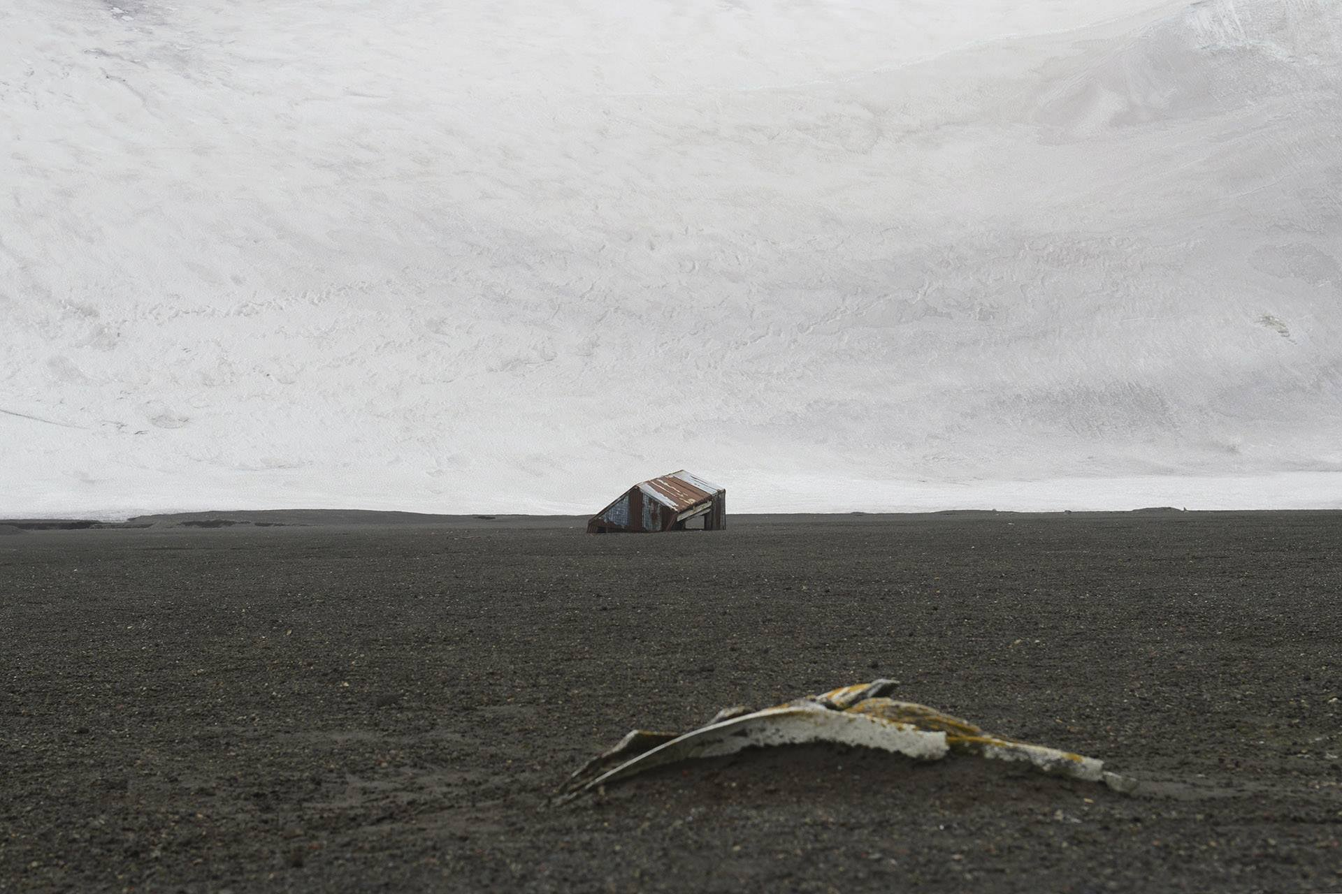 Deception Island, South Shetland Islands, Antractic Ocean III, 2014<br/>