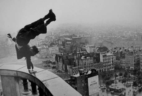 Handstand on Michael, Hamburg, 1948<br/>