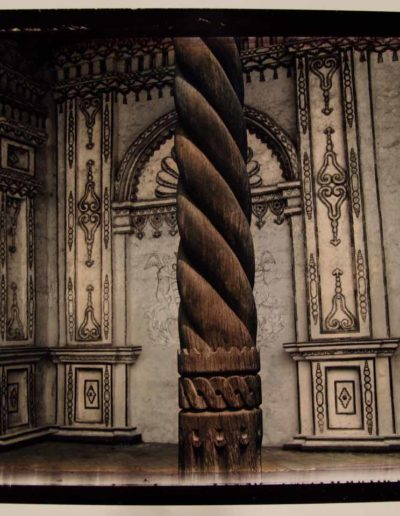Bolivie. Detail de l'église de San Xavier, 2010<br/>