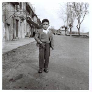 Virxilio Viéitez. Niño de carretera, 1958<br/>