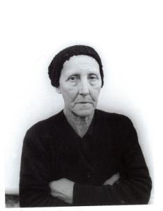 Virxilio Viéitez. Mujer con gorro de ganchillo, 1962<br/>
