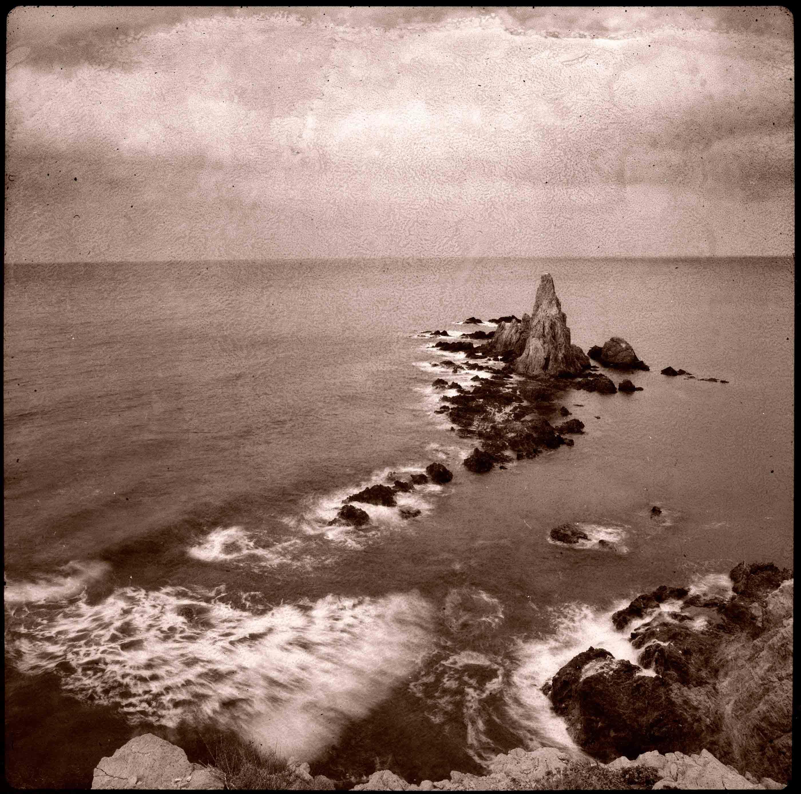 Arrecife de la Sirena, 1993<br/>Virado de oro / Golden Toner