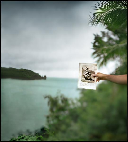 Bahía de Cook. Port<br/>Impresión de tintas de pigmentos / Inkjet print