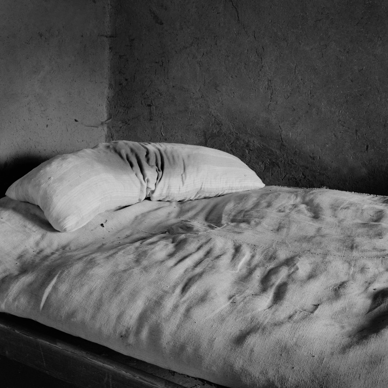 Cama de Los Corrales,1983<br/>Gelatina de plata / Silver gelatine