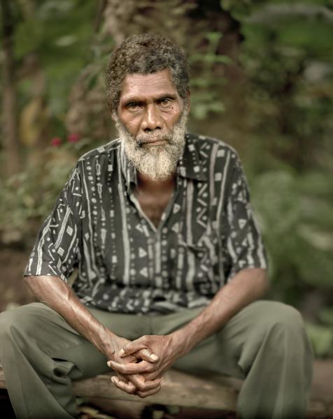 Chif Isaac. Port Vila<br/>Impresión de tintas de pigmentos / Inkjet print