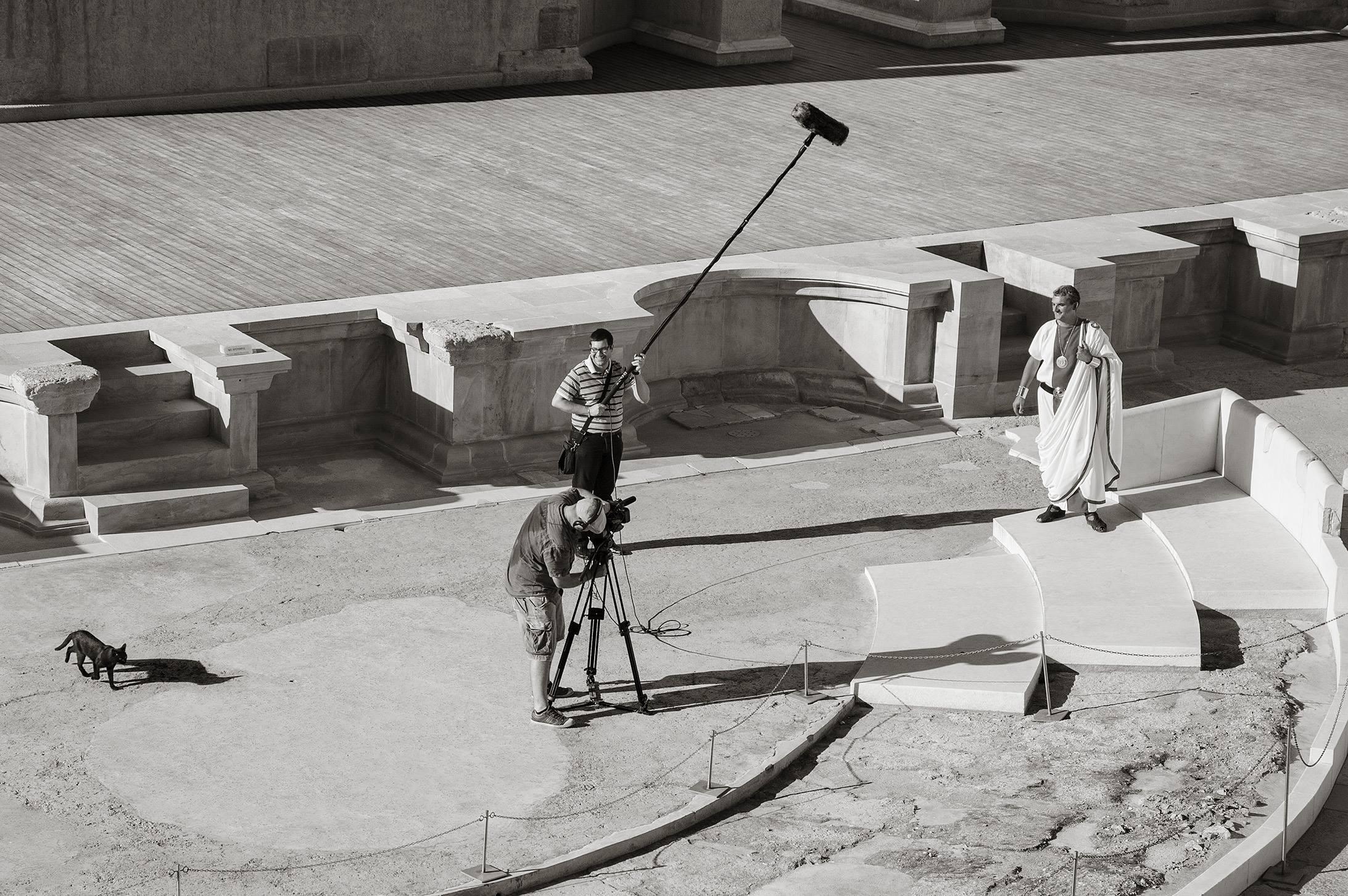 Juan Manuel Díaz Burgos<br/>Una de romanos, Teatro romano de Cartagena, 2013