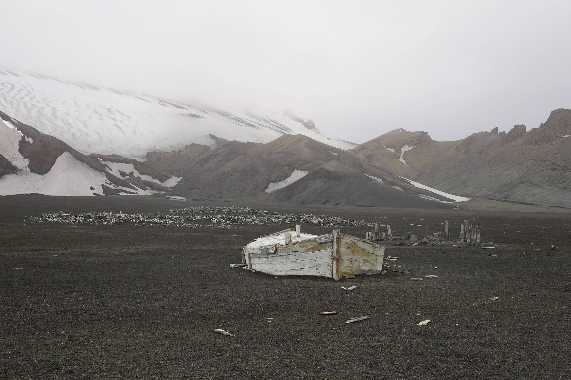 Deception Island, South Shetland Islands, Antractic Ocean V, 2014<br/>