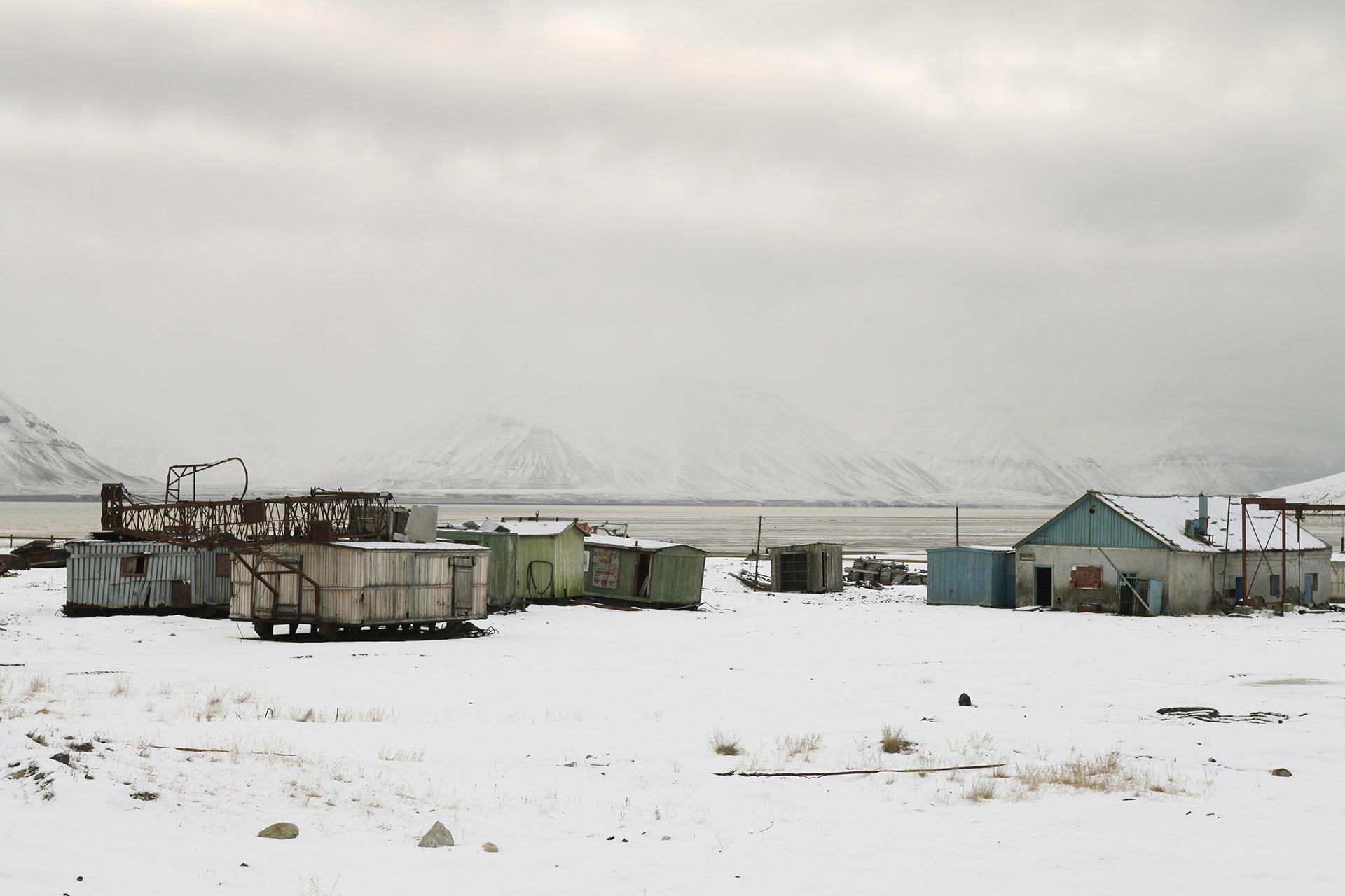 Pyramiden, Spitsbergen, Svalbard, Arctic Ocean V, 2013<br/>