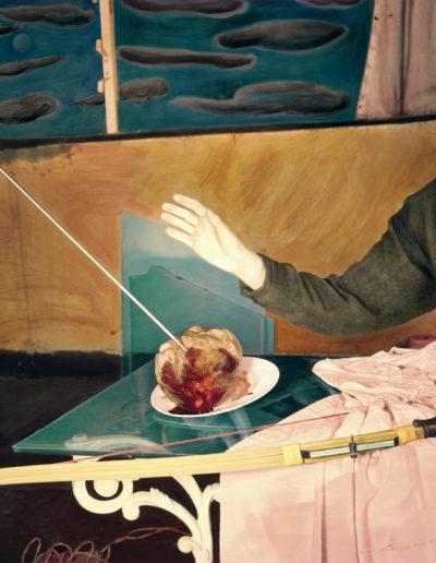 Herida como la niebla por el sol, 1987<br/>Tintas pigmentadas / Inkjet