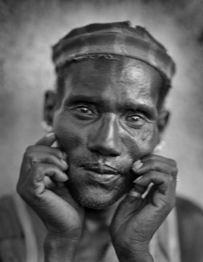 Hombre de Dimeka, 2005<br/>Gelatina de plata / Silver gelatine