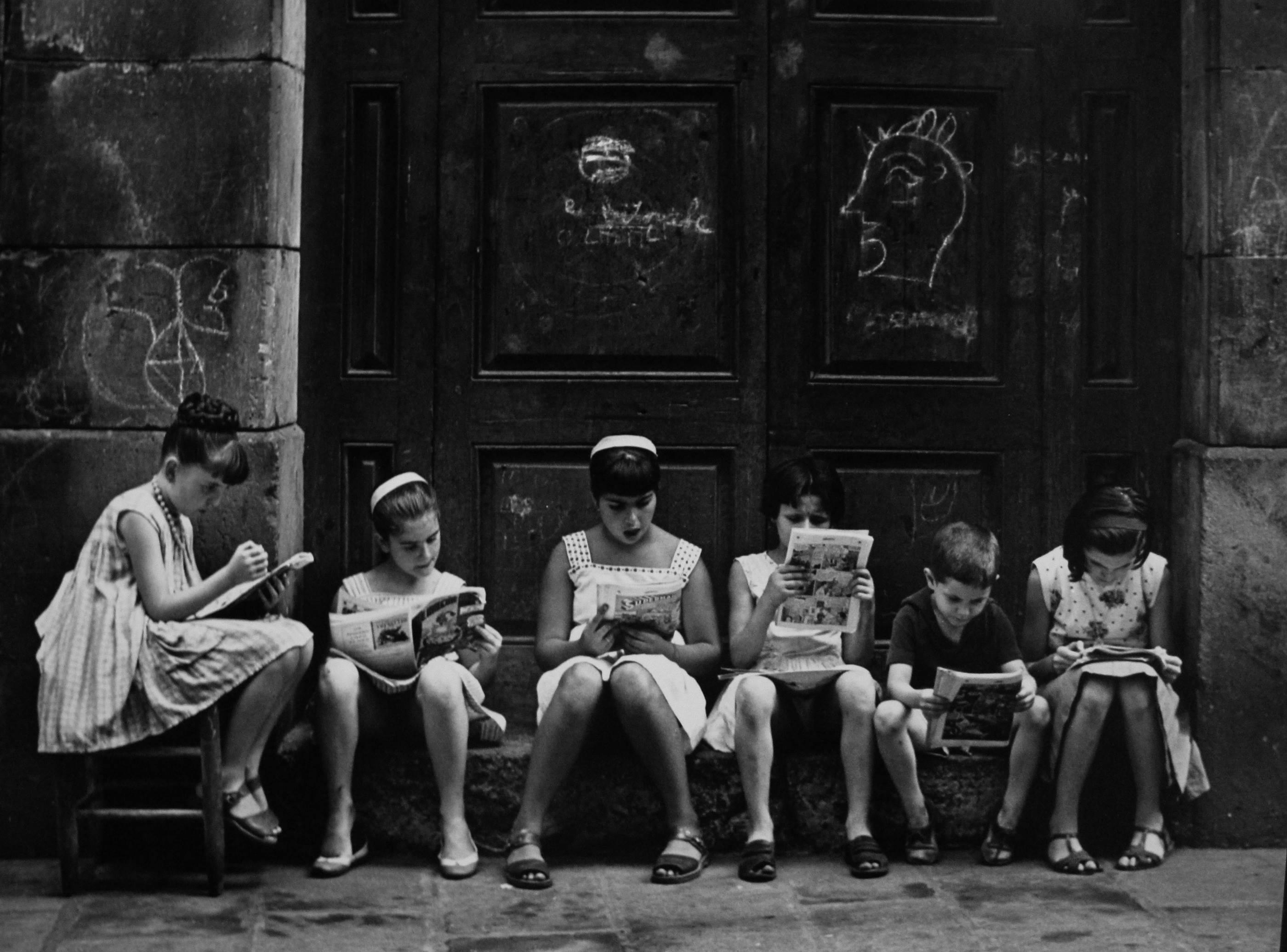 Gabriel Cualladó. Pasión por la lectura, 1962<br/>