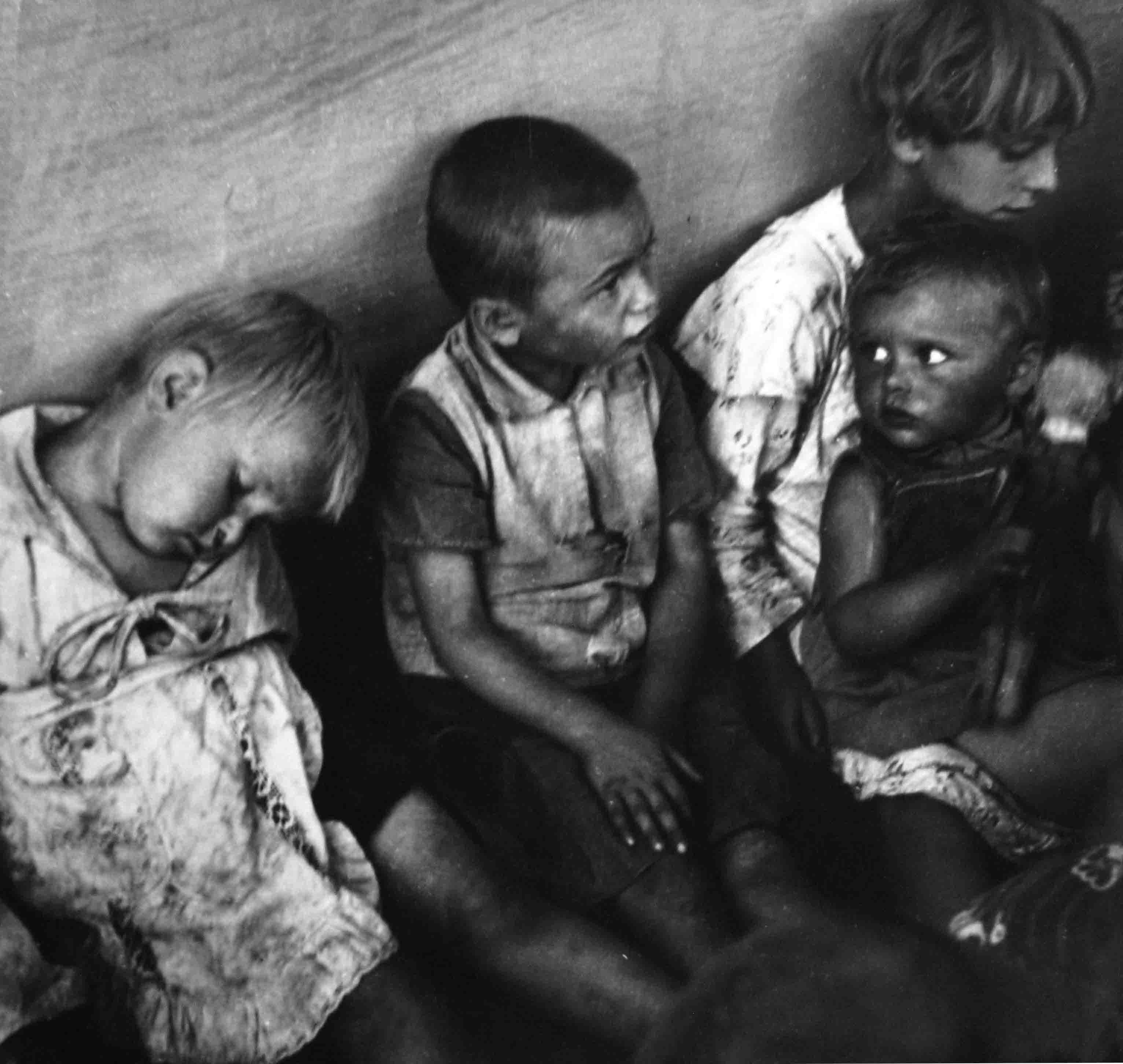 Nicolás Muller. Niños húngaros, 1936<br/>
