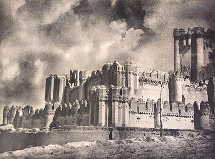 José Ortiz-Echagüe. Castillo de Coca, Segovia, 1956<br/>