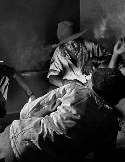 The Gambling Quartet, 1955<br/>Gelatina de plata / Silver gelatin