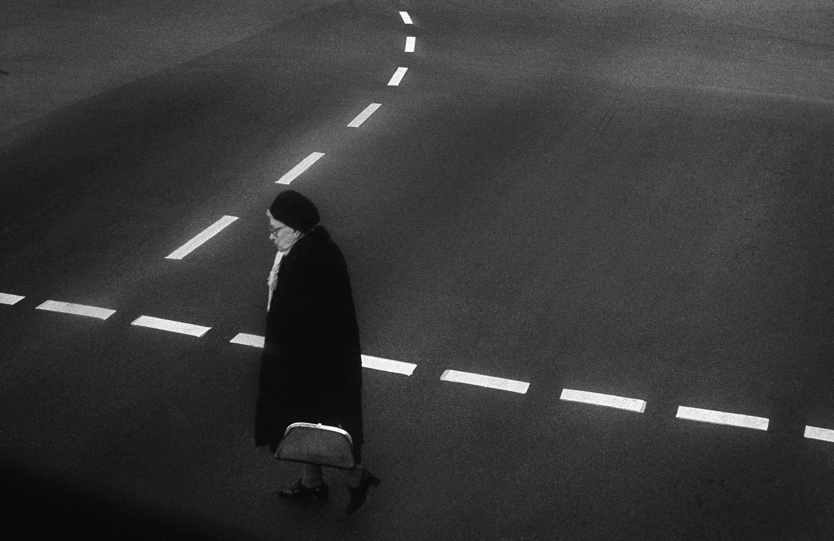 Berlin crossing, 1981<br/>Gelatina de plata / Silver gelatin