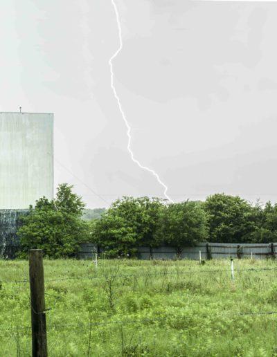 Linarejos Moreno<br/>Drive in cinema, (Houston), hurricane season, 2015