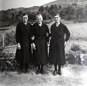 Virxilio Viéitez. Madre con hijas, 1959<br/>