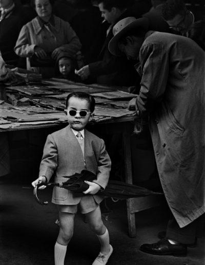 Mercado de San Antonio, Barcelona, 1955<br/>