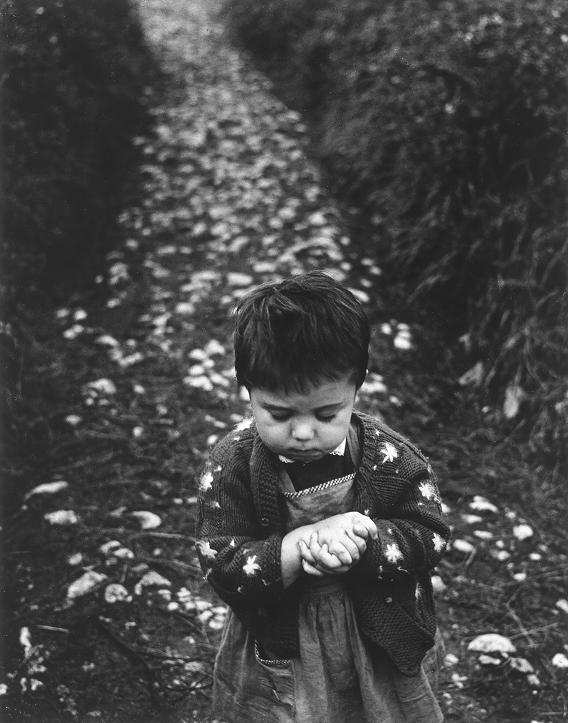 Gabriel Cualladó. Nena en el camino, 1957<br/>
