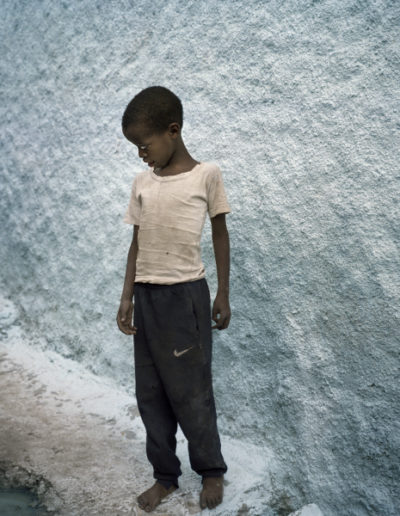 Niño Nike. Harar, 2005<br/>Impresión de tintas de pigmentos / Inkjet print