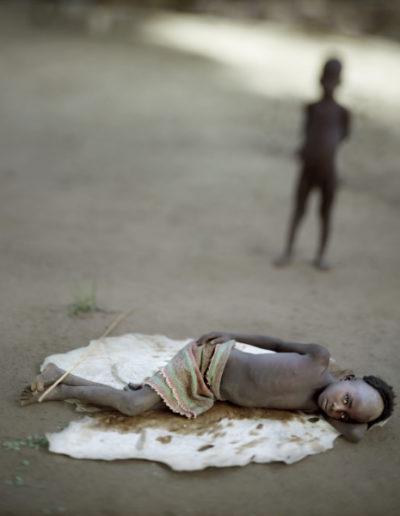 Niño quemado turmi, 2006<br/>Impresión de tintas de pigmentos / Inkjet print