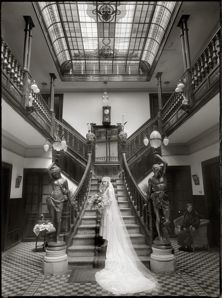 Novia en Casa de Montes, 1930<br/>