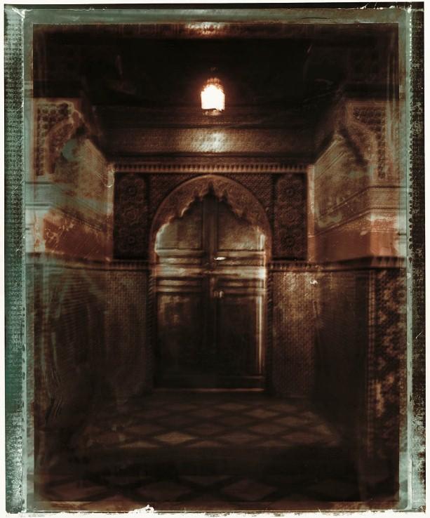 Porte De Ryad. Serie Fleur Au Henne. Marrakech, 2002<br/>