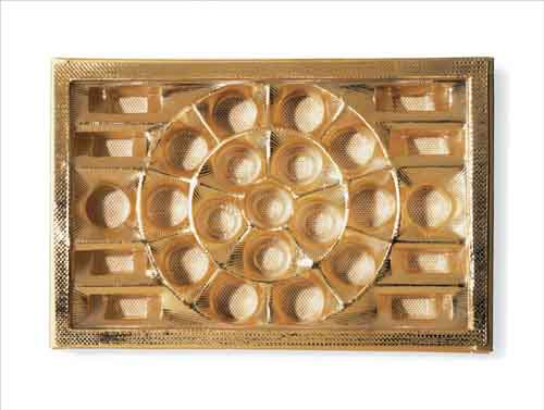 Chuck Ramírez. Candy Tray Cheap Box of Chocolates<br/>