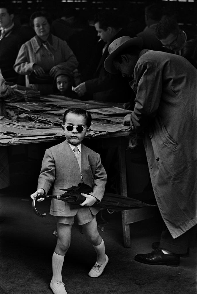 Ramón Masats. Mercado de San Antonio, Barcelona, 1955<br/>