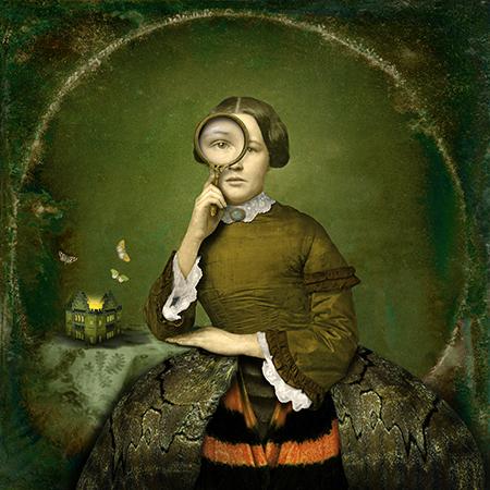Maggie Taylor. The moth house, 2012<br/>Impresión de tintas de pigmentos