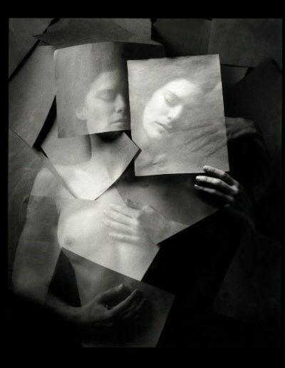 Jerry Uelsmann. Undiscovered self, 1999<br/>Gelatina de plata con tratamiento de archivo