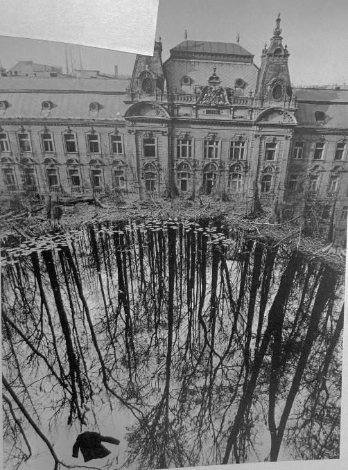 Jerry Uelsmann. Untitled, 1976<br/>Gelatina de plata con tratamiento de archivo