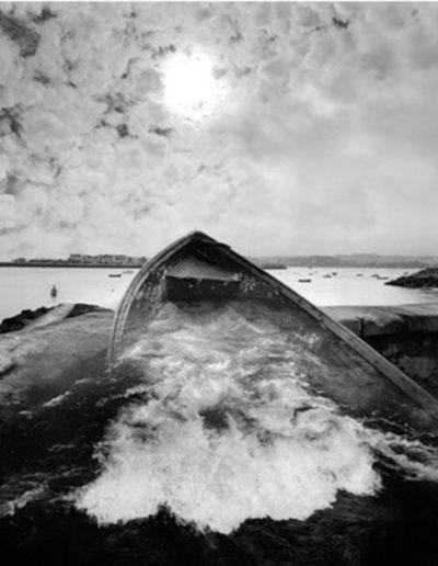 Jerry Uelsmann. Untitled, 2004<br/>Gelatina de plata con tratamiento de archivo
