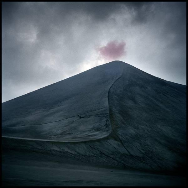 Volcán Yasur<br/>Impresión de tintas de pigmentos / Inkjet print
