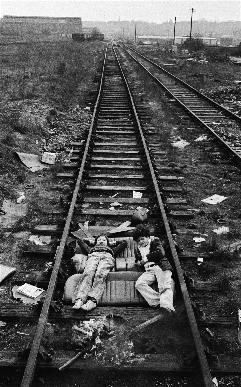End of the line, London Docks, 1974<br/>Gelatina de plata / Silver gelatin