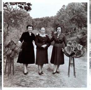 Virxilio Viéitez. Tres mujeres. Barro de Haren, 1958<br/>