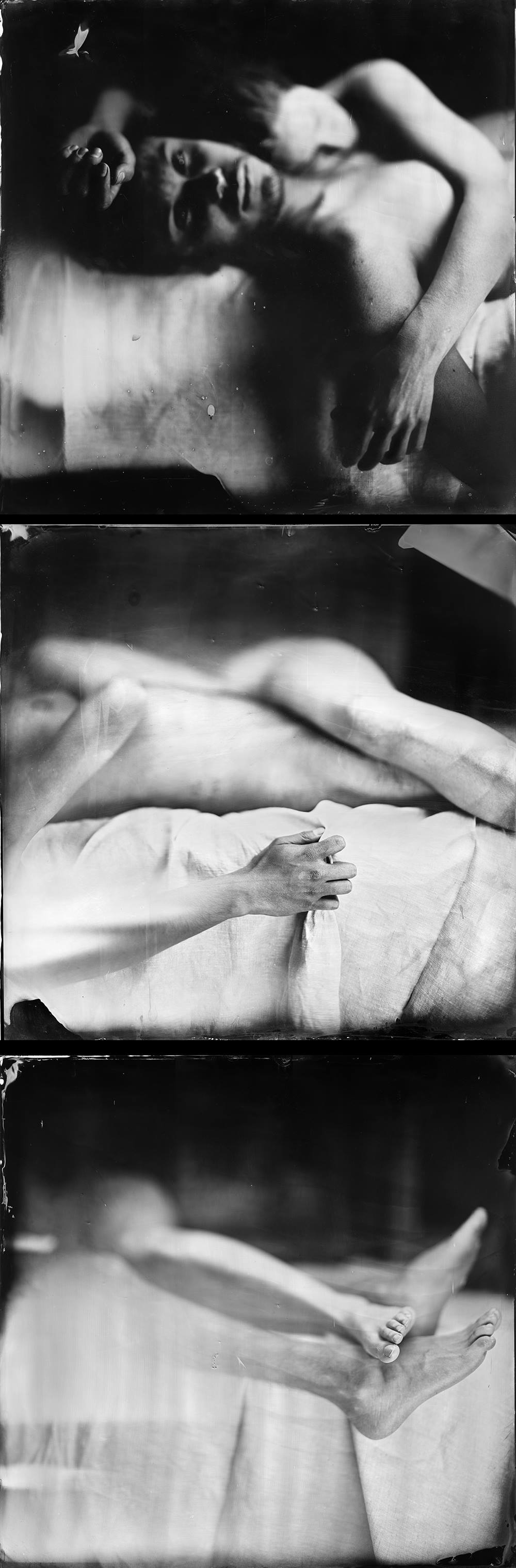 Alberto Ros. Serie Hidden Humanity. Tríptico<br/>