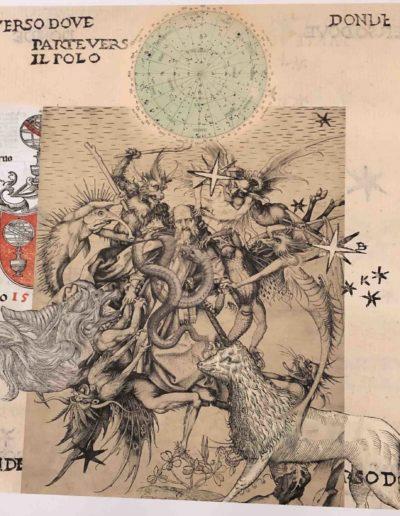 ST, Serie Celestials, 2018<br/>Impresión sobre seda natural. 90,5 x 91,5 cm